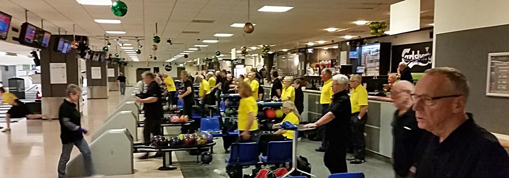 bowling med vores svenske venner